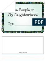 People in My Neighborhood Journal