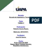 Tarea 5 - Roberto Ozoria Reglamentacion