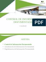 6. CONTROL DE INFORMACIÓN DOCUMENTADA