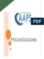 Apresentação - Políticas Educacionais