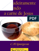 Verdadeiramente Comendo a Carne de Cristo