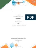 Giovanni Ibañez Unidad 1 - Fase 2- Prever y proponer estrategias en la planeación y organización