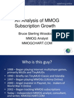 ION 2008 an Analysis of MMOG Subscription Growth