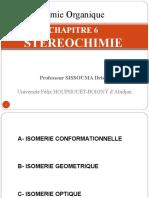 CHAPITRE 6 STEREOCHIMIE
