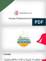 Sem. 01 Introducción control interno