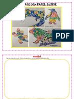 ARTE 02 collage con papel lustre
