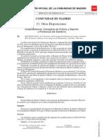 Declaración BIC del Beti-Jai (BOCM 33 de 9/2/2011)