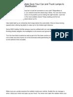Make Your Car Led Light Bulbs Picking These Enhancing Tipsiafxt.pdf