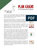 Plan casero No. 1