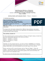 Activity guide and evaluation rubric - Phase 2 - Scenario 1