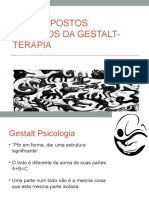 TEORIAS DE BASE GESTALT TEORIAS  E SISTEMAS