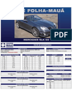 Teste Folha-Mauá - Mercedes SLK 55 Kompressor AMG