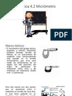 Práctica 4.2 Micrometro Miscelaneo