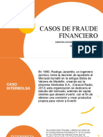CASOS DE FRAUDE