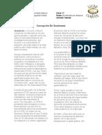 Corrupción En Guatemala