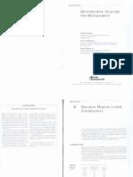 Quantative Analysis for Management