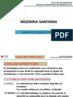 Ing.Sanitaria Sesion 06 - Linea de Conduccion