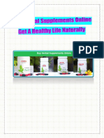 Buy Herbal Supplements Online – Get A Healthy Life Naturally