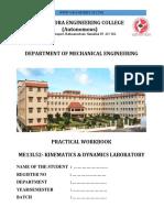kinematics and dynamics LAB manual.pdf