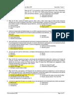 Examen Residentado Médico 2020 PRUEBA A