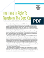 HP Time is Right to Transform the Data Center