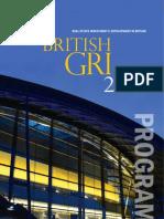 British GRI 2010 Program Book