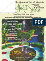 2011 GCV Daffodil Show hosted by Hillside Garden Club