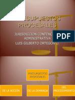 PRESUPUESTOS PROCESALES 1437.ppt
