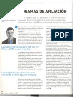 Programas de afiliacion. Sergio Garasa, Director General Tradeoubler en Ganar.com dic 2001