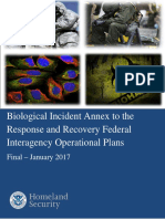 Biological Incident Annex to the Response and Recovery Federal Interagency Operational Plans