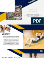 ANOREXIA DEPORTIVA