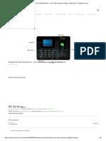 Relógio De Ponto Biométrico - com Leitor Impressão Digital - Eletrônico no Submarino.com