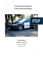 Police Electric Vehicle Pilot