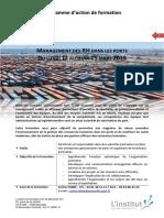 Programme Management RH dans les ports-Mars 2018-2
