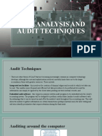 Lesson 3 - Data Analysis and Audit Techniques
