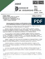 Resolución 3458 de la Asamblea General de la ONU, 1975.