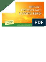 cartolina fotovoltaico