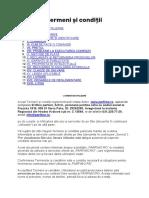 Termeni si conditii 14-05-2020