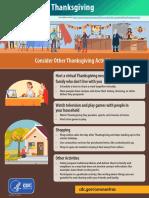 Alternate Thanksgiving Activities - CDC