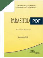 serie jaune 3eme année - PARASITOLOGIE.pdf