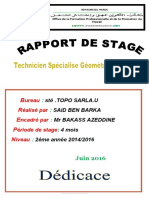 rapport  stage said fini