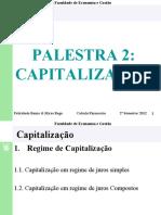 Palestra 2 - capitalizacao