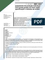 NBR 14627 - Trava Queda Guiado Em Linha Rigida.pdf