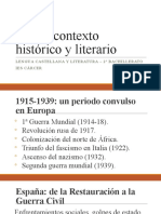 01. Lorca. Contexto histórico y literario