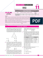 Sample paper for class 11 NSO