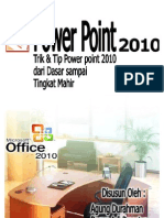 Tips & Trik microsft office 2010 (Power Point)