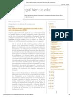 Boletín Legal Venezuela_ Interpretación del artículo 95 constitucional