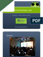 Android Developer Lab