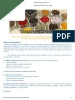 Aditivos Alimentarios _ Diagnostico X