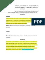 Articulo Percepciones del psicologo educativo